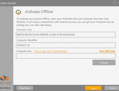 QLM License Wizard – Offline Activation