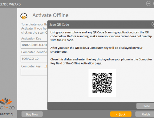QLM License Wizard – Offline Activation with QR Code