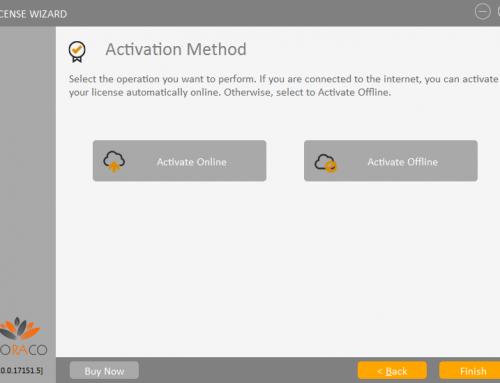 QLM License Wizard – Activation Method