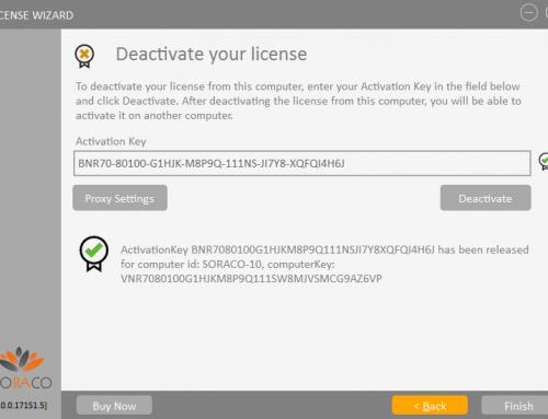 QLM License Wizard – Deactivation